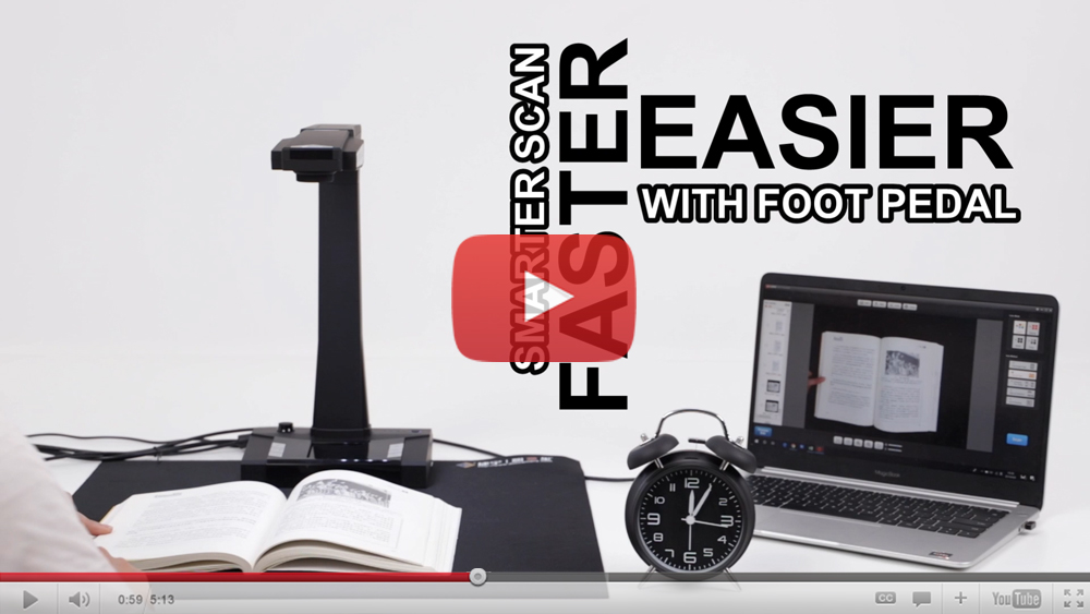 Portable Book Scanner